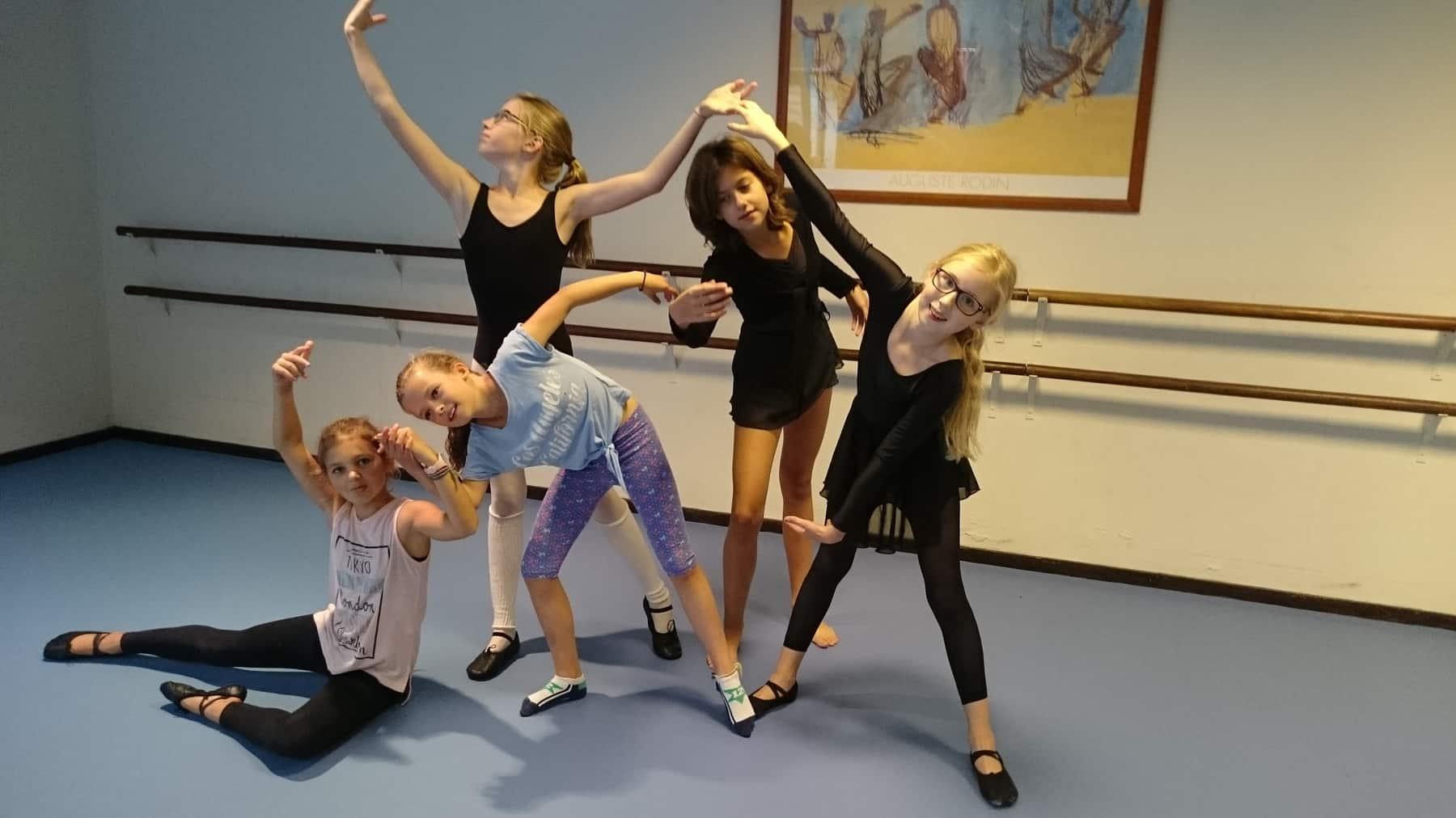 Ballet Les Jeugd Blaricum In Dorpshuis Blaercom