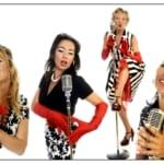 Close Harmony Kwartet Sisters