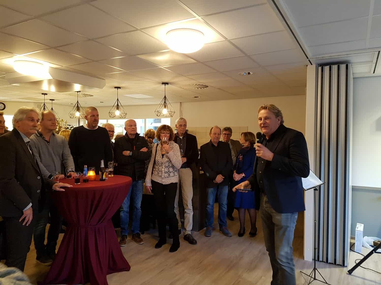 Heropening door bestuurslid Dirk Jan Emmens Dorpshuis Blaercom Blaricum 17 januari 2020