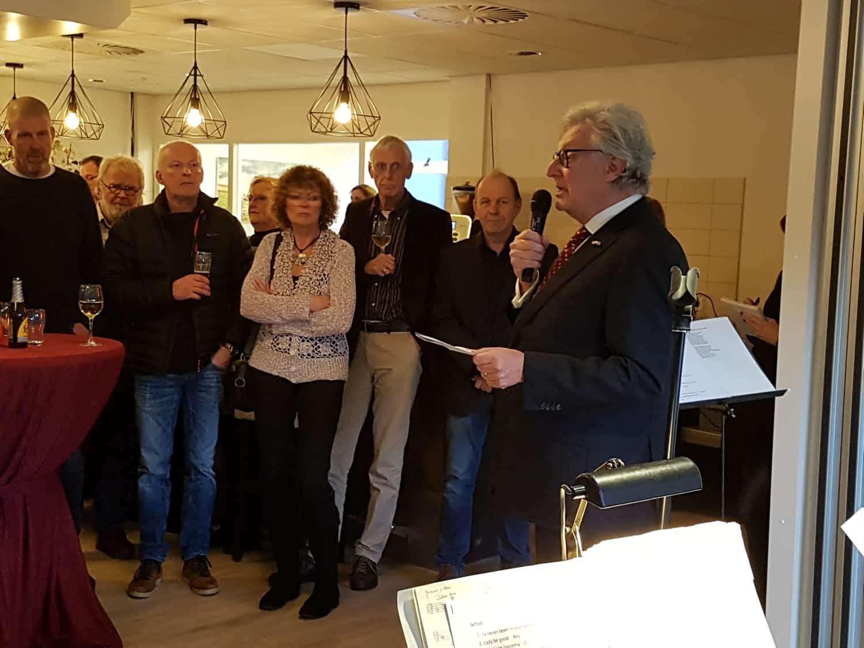 Heropening door Gerard Knoop Dorpshuis Blaercom Blaricum 17 januari 2020