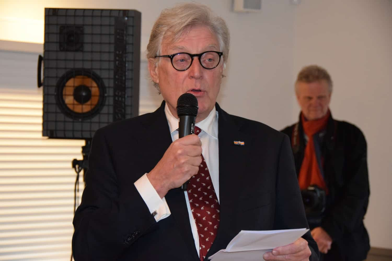 Wethouder Gerard Knoop heropent dorpshuis Blaercom Blaricum 17 januari 2020