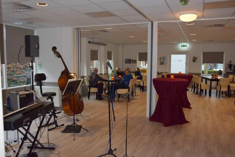 Opening Blaercom Dorpshuis Blaricum muziek olv Nol van Bennekom
