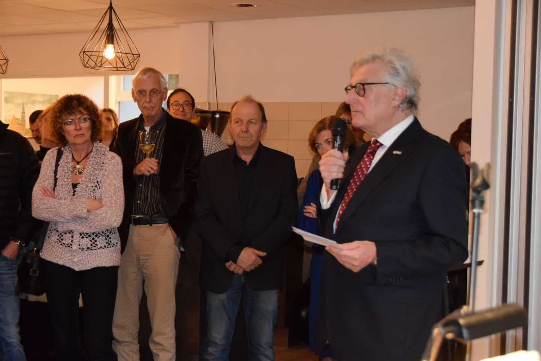 Opening Dorpshuis Blaercom Blarcium 17 Januari 2020 door Gerard Knoop