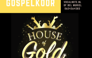 Auditie Koor House of Gold
