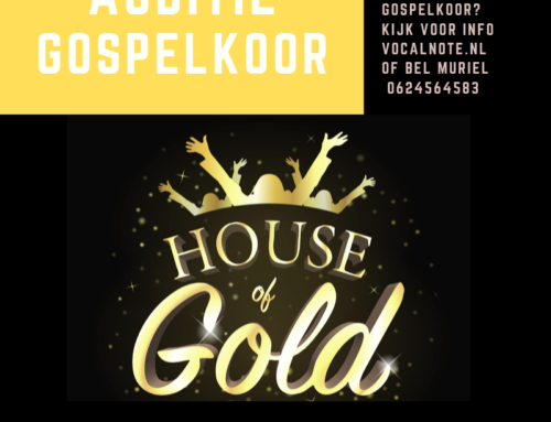 Auditie Gospelkoor House of Gold