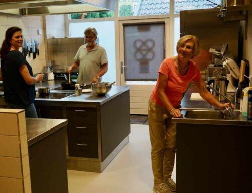 Samen koken in de Blaercom dankzij het Oranje Fonds!